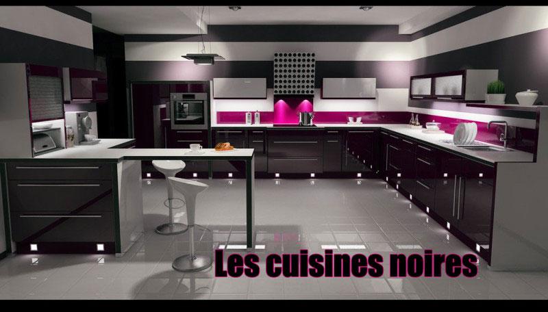 cuisines noires